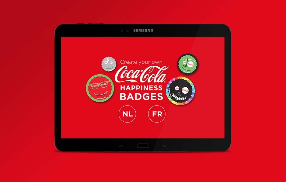 Coca cola mobile application