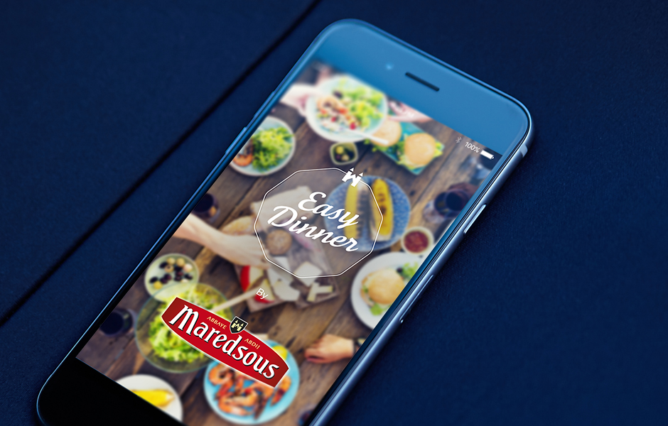 Easy Dinner Maredsous mobile application
